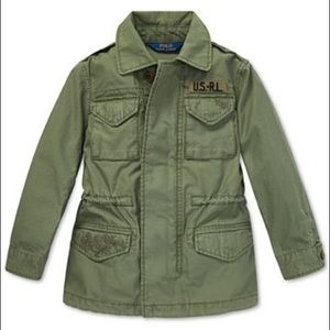 Polo Ralph Lauren Twill Military-Inspired Jacket